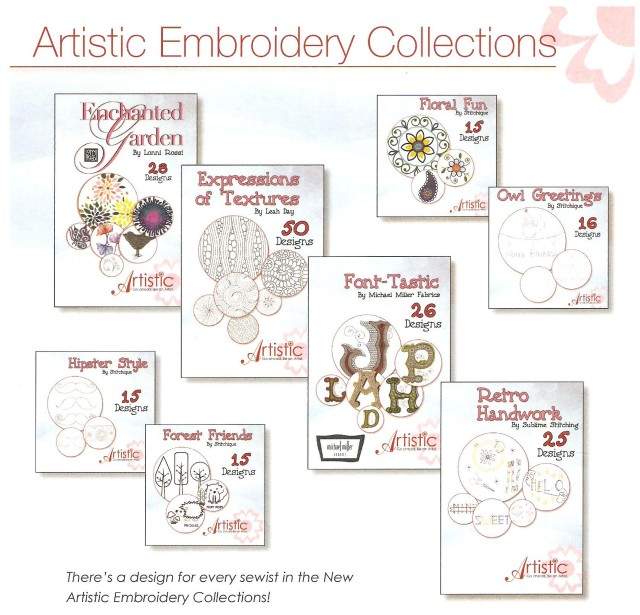 artistic emb collections