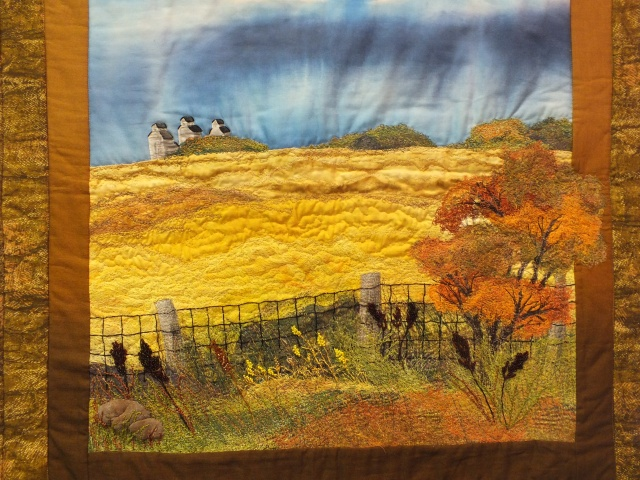 cheese cloth landscape