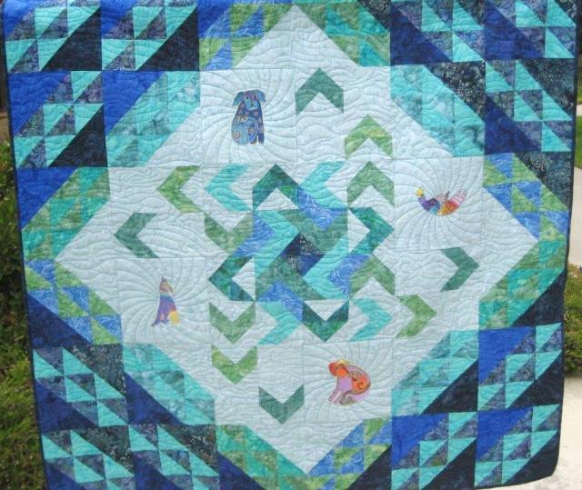 The 2014 Quilt raffle