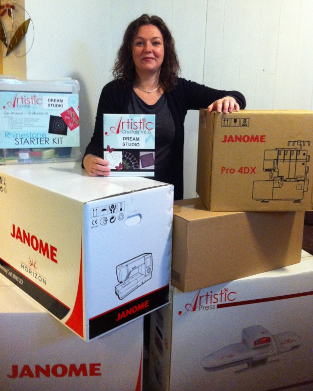 Janome dream sewing room winner