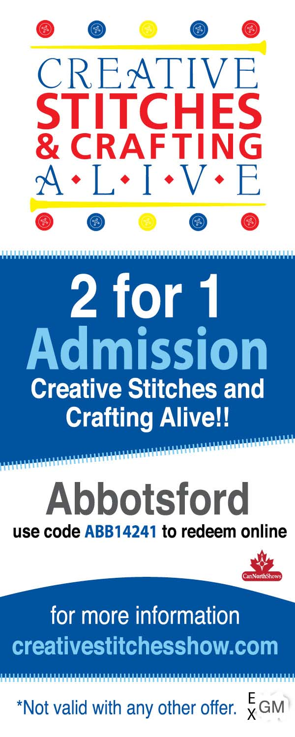 SEWING SHOW TIME AGAIN…… CREATIVE STITCHES & CRAFTING ALIVE