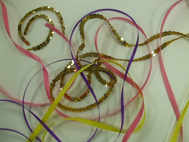 HOW TO EASILY AND QUICKLY EMBELLISH YOUR SEWING PROJECTS USING RIBBONS & SEQUINS.....