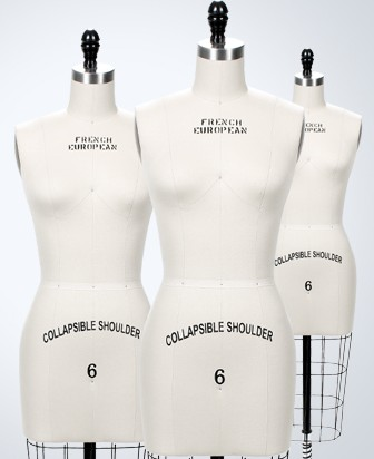 Deluxe dress forms from Fashion Supplies Inc