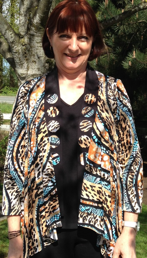 One of my very favourite jackets made with very soft drapey ITY knit fabric.....we discussed at length in this class how to sew fabrics like this.