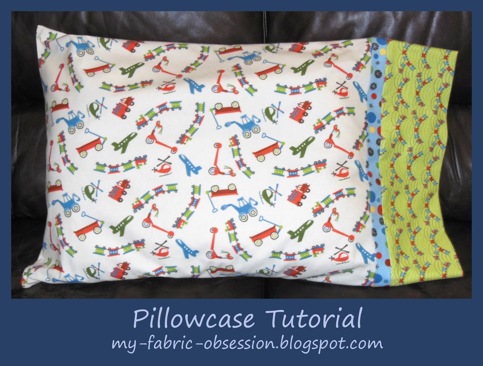 Pillowcase Tutorial Tube: PROJECT IDEA  SUPER QUICK TUBE PILLOW CASE   Janome Life,