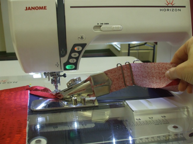 THE FABULOUS JANOME QUILT BINDER SET