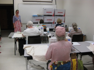 Quilting fun in the classrooms