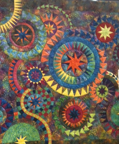 This was a quilt displayed at a show in Lethbridge last year. NEXT YEAR Quilt Canada will be visiting this Alberta city......this is a taste of good things to come in Lethbridge......BUT after this year in St Catherines!