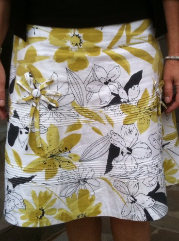Really great designer skirt - made by Sarah of the Goodbye Valentino blog.