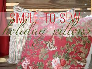 Personalized pillow cases always make special gifts - AND they are so easy to make (see our blog on 16th May 2014 for a great technique). pic: hobbyfarms.com