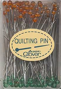 I'm am definitely going to buy more of these....they are long, sharp and have a clear glass head. I like them for every day sewing & quilting.
