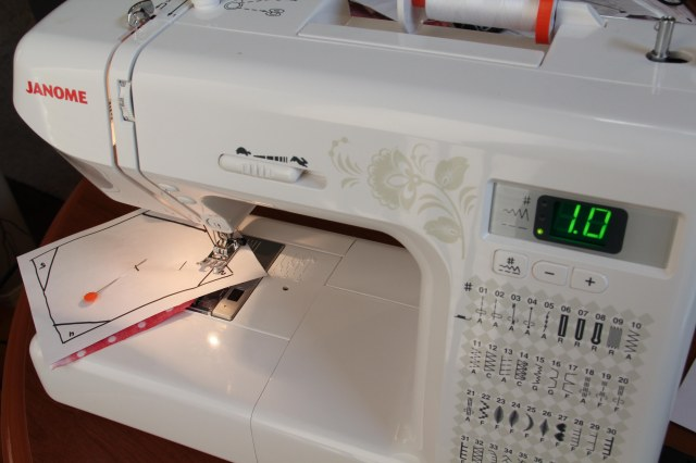 Adjusting to a longer stitch length helps with removing the paper after stitching