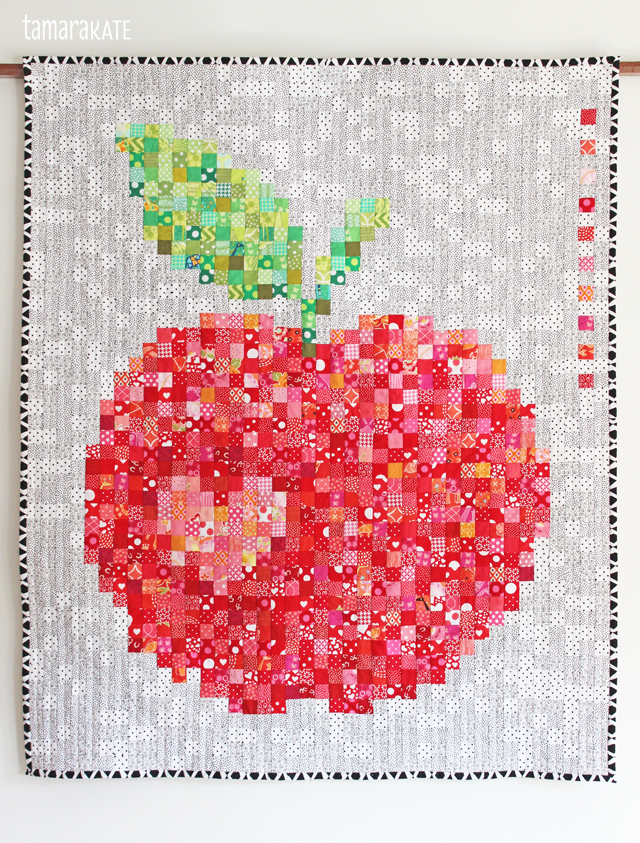 tamara kate 4 - apple quilt bound