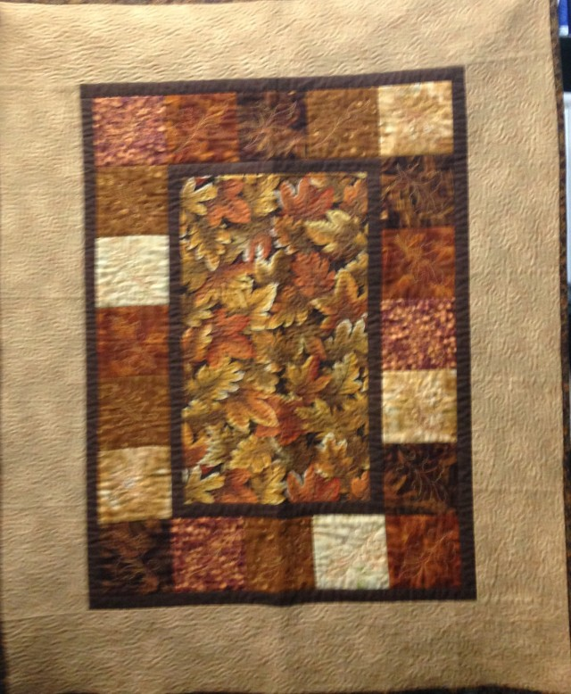 We had a request for a pic of the whole quilt so I have added it here. Apologies that it is a little blurry.