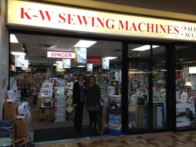 K-W Sewing Center looks after the sewing needs of people living in the Kitchener-Waterloo area. Steve & Sonja are most helpful and will be happy to assist you with any of your sewing queries and needs.