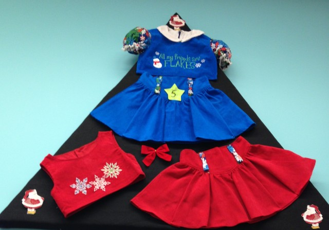Delightful children's Christmas clothing