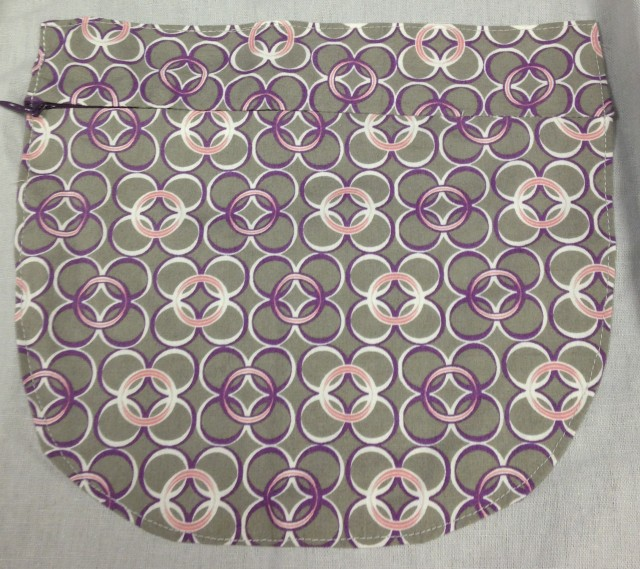 Here is a pocket I recently added to an apron.....it has an invisible zipper closure