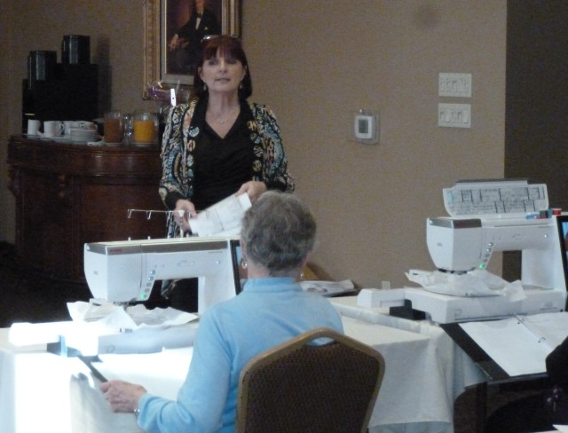 Yours truly holding forth during the Master Class in Stratford, Ontario