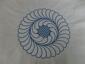 Another quilting design which can be used with this ASQ 22 Acufil hoop