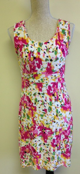 Same Jalie dress, similar soft ITY fashion knit....but different binding option