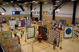 Windsor quilt show