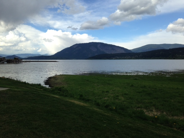 Another view of Shuswap lake