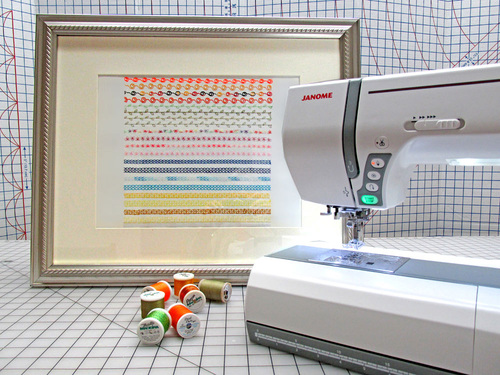 Sew4Home's Decorative Stitch Sampler: A contemporary twist to a traditional craft (Image: Sew4Home)