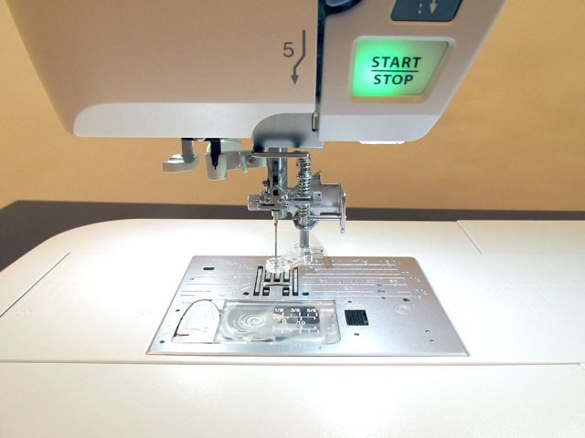 Pic courtesy of Sew4Home - foot attached to the Janome sewing or embroidery machine