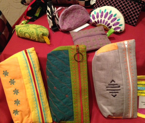 More great little zipper bags - all sorts of shapes sizes.....and plenty of fun to make.