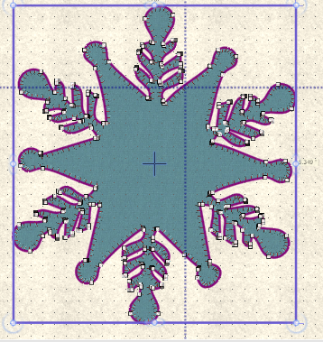 snwflake applique