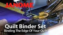 The quilt binder comes with a base plate which fits over the bobbin cover area and the binder attachment is then screwed onto the bas e plate with the screws whch are included in this set. HINT: keep these screws in a little plastic pill bottle or similar to prevent loss.