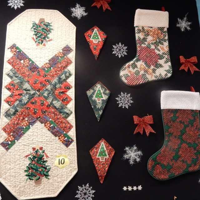 More wonderful Christmas Challenge fabric projects by Langley Vacuum Sewing customers