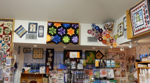 ALWAYS plenty to see buy at Snip and Stitch, Nanaimo, BC