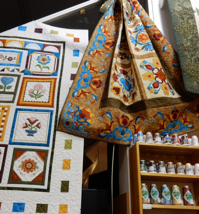"""And more...in every corner and wall, there is so much """"eye candy"""" for sewers and quilters."""