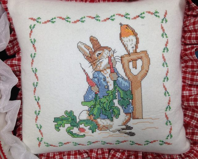 And more gorgeous crossstitch - this time Beatrix Potter