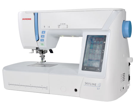 and another of the Janome sponsored classroom machines - which WILL be available for purchase at the show