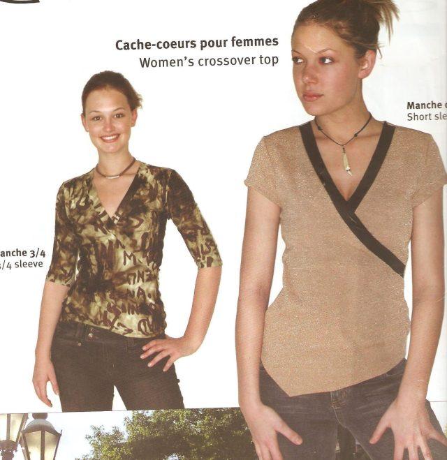 Jalie pattern for knit fabrics