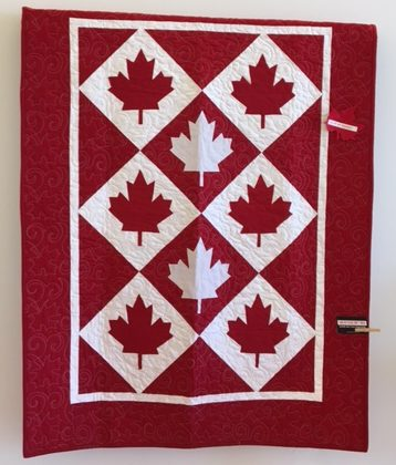 Take inspiration from these very Canadian themes......next year is, as you know, Canadas 150th anniversary of Confederation an we will be seeing a lot more quilts similar to this and umpteen challenges, quilt exhibits and more along these lines......Have you got some Canadian memory quilts planned? Even though it is a brag, I have one made already and another 2 in the planning stage!