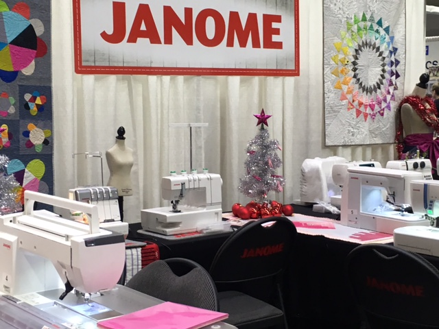 It is over just over a month until Christmas so we added some festive accents to our booth!