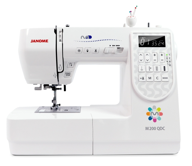 More new machines: our Janome M series of machines: M50, M100 and M200