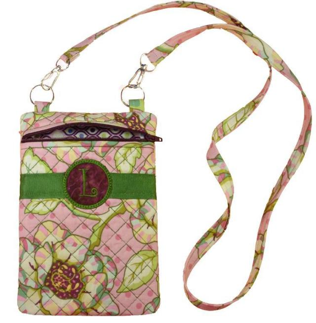 Another Pickle Pie in the hoop project - the cross body bag