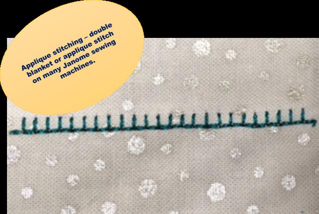 SOME APPLIQUE SECRETS Janome Life Extraordinary Applique Stitch Sewing Machine
