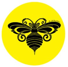 cqa2017-bee-black-yellow-circle