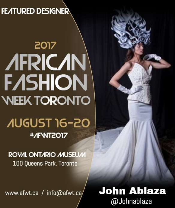 African Fashion Week In Toronto This Month Janome Life