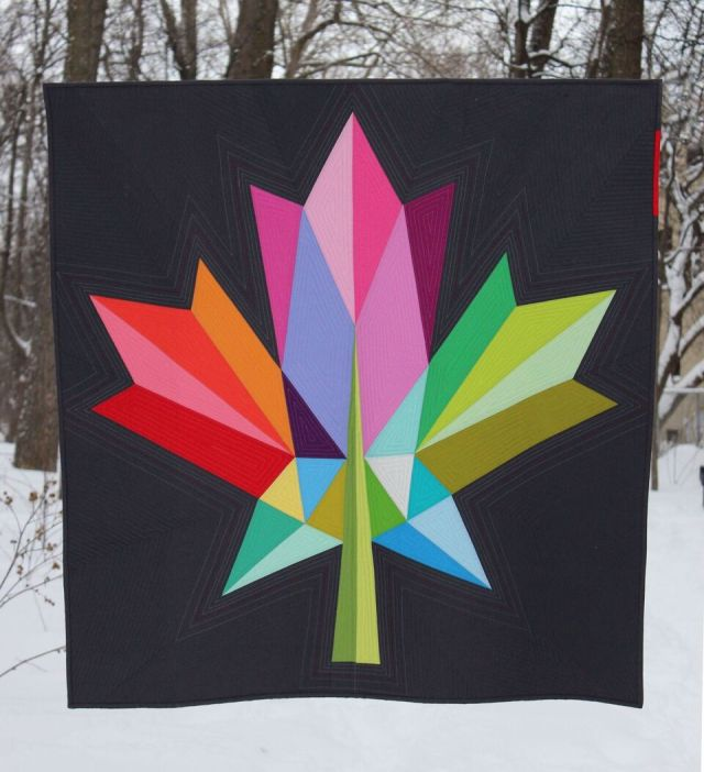 Oh Canada! Maple leaf Quilt Pattern and Aurifil Canada 150 Thread ... : quilt canada - Adamdwight.com