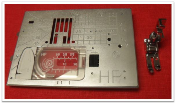 hp foot and plate