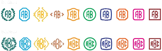 monogram options 15000