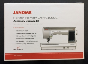 Janome 9400 Upgrade Kit box