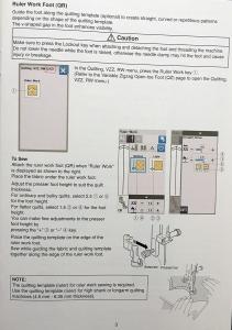 Janome 9400 Upgrade Kit manual pg. 3
