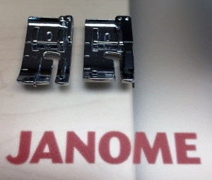 Janome O feet comparison